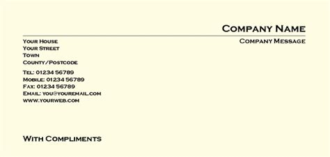 compliment slip template how to change the location of your ms word 2007 templates