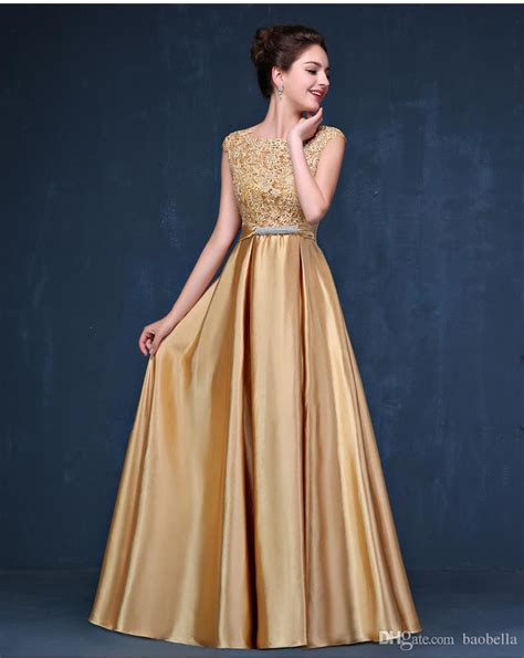 In Gold Dress evening dress new arrival sequin gold evening dresses