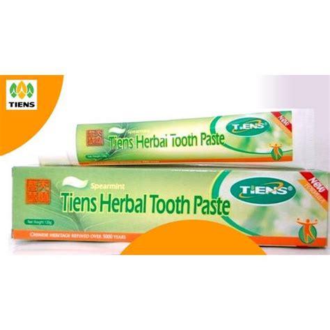 Pasta Gigi Herbal Tiens Solusi Bau Mulut Pemutih Gigi Alami 2 tiens herbal toothpaste pasta gigi odol herbal tiens