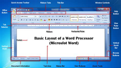 word layout software word processing word processor and its features