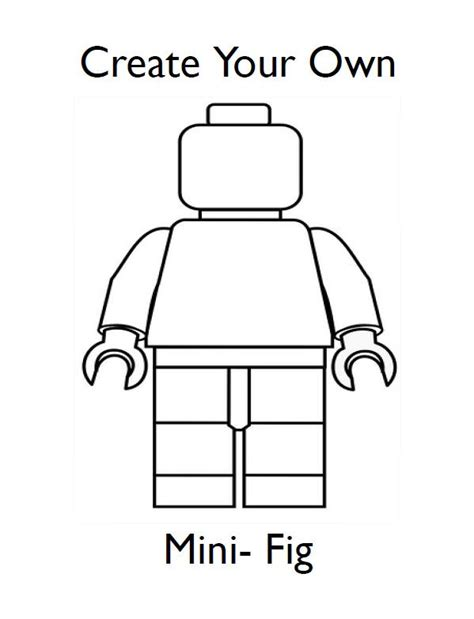 how to make your own doodle for draw your own lego minifigures lego tip junkie