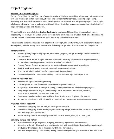 layout design engineer job description 8 civil engineer job description sles sle templates