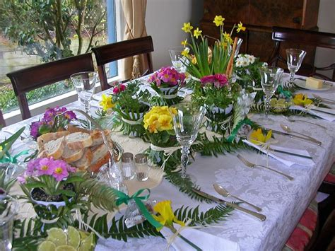 christmas luncheon table decorations luncheon table decoration ideas easter tree