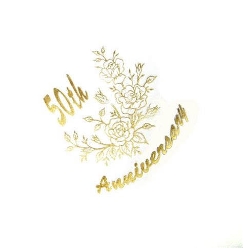 Wedding Anniversary Golden by Golden Wedding Anniversary Napkins In Packs Of 15