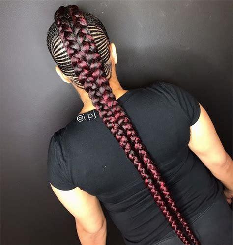 mohawk feed  braids   braided hairstyles
