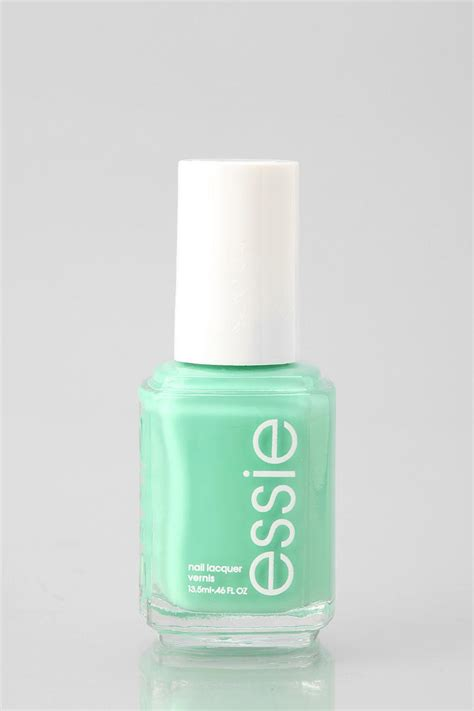 Mint Green Nail Polishes by Essie Nail Mint House Decorators Collection