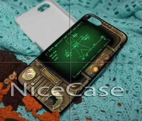 Fallout Pipboy 3000 Special A1317 Iphone 4 4s 5 5s 6 6s 6 P pipboy 3000 fallout iphone 4 4s 5 by nicecese 14 85 pipboy 3000