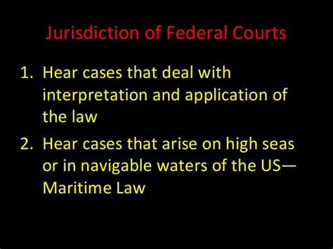 chapter 18 federal courts