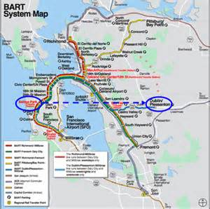 Bay Area Bart Map by Gartner I M Not Actually A Geek