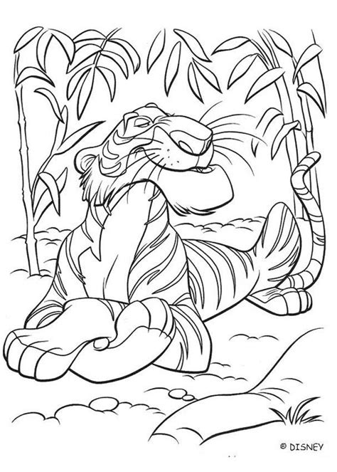 coloring page jungle book shere khan looking for shanti coloring pages hellokids