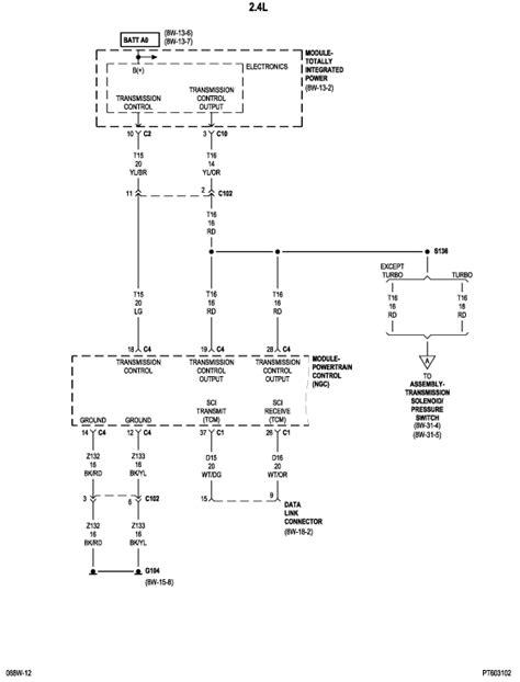 pt cruiser wiring diagram pt cruiser alternator wiring diagram get free image