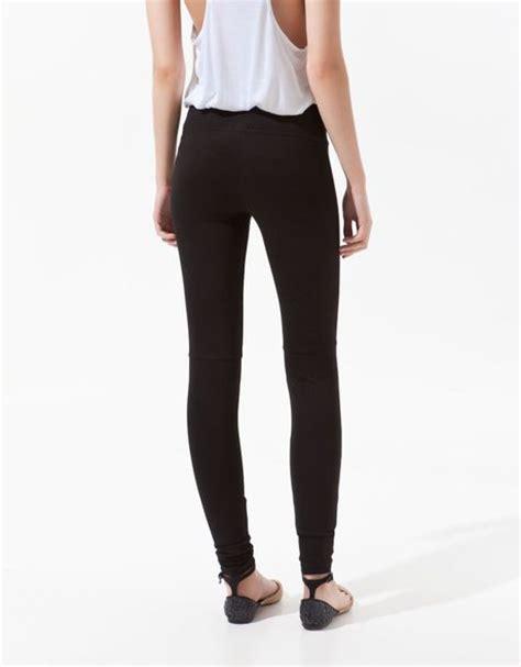 Legging Basic Gap zara basic in black lyst