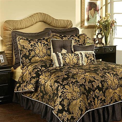 black and gold bed set buy black gold bedding from bed bath beyond