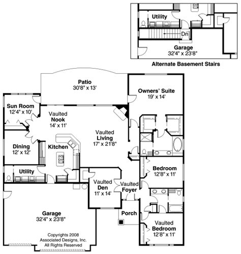 ranch house plans ryland 30 336 associated designs