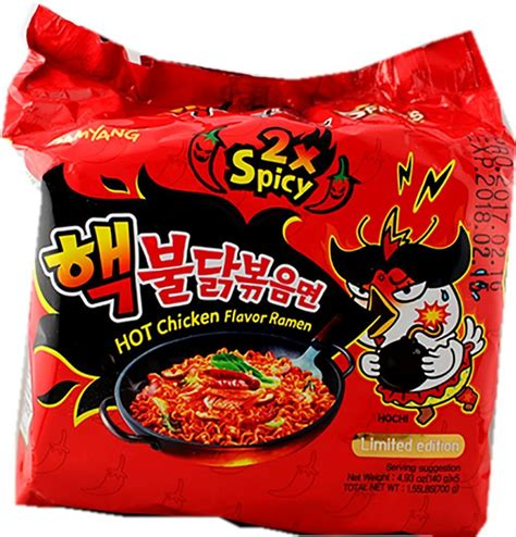 hot hot noodles samyang ramen spicy chicken roasted noodles