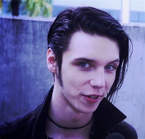 Andy Biersack Hairstyle by Many Hair Styles Of Andy Biersack Andrew Dennis Biersack
