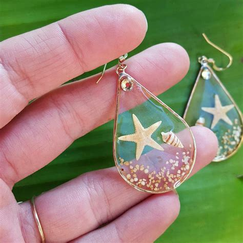 resin crafts projects resin seashell earrings resin crafts resin