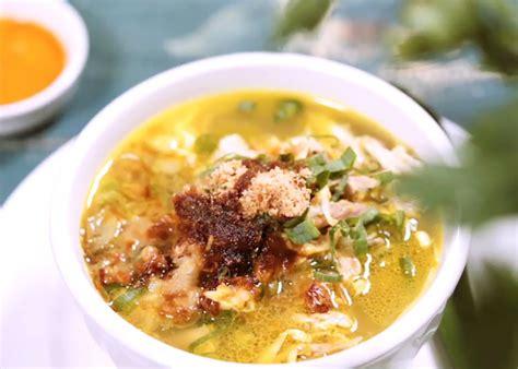 resep soto banjar kuah bening  rasa khasnya nempel