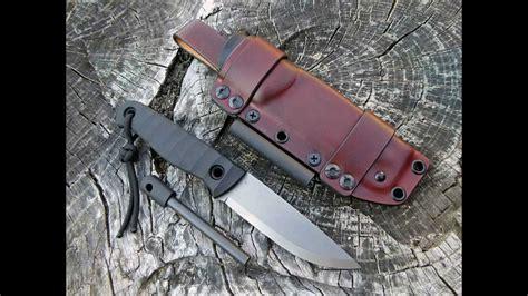 how to make a kydex knife sheath kydex leather sheath for bushcraft knife