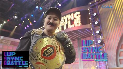 philippines in sync manilyn reynes s winner moment lip sync battle