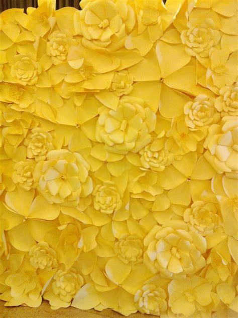 Wedding Backdrop Yellow by Wedding Backdrop Yellow Blooms Yellow Of