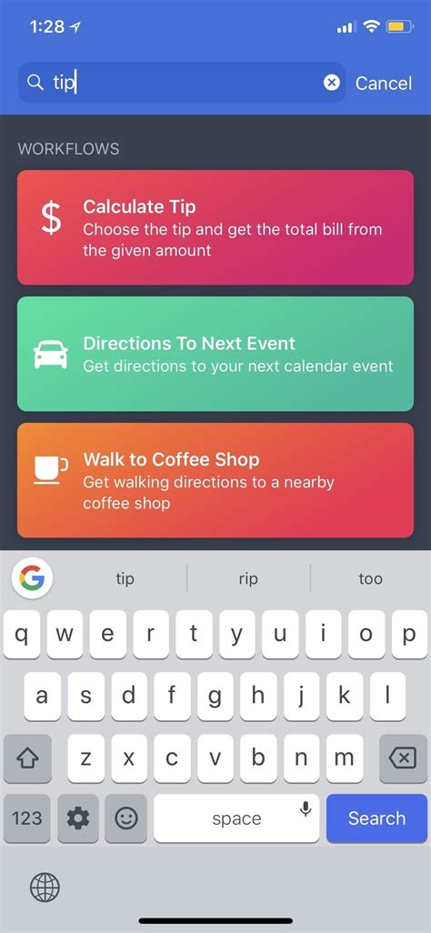 workflow app tips workflow 101 how to calculate tips faster on your iphone