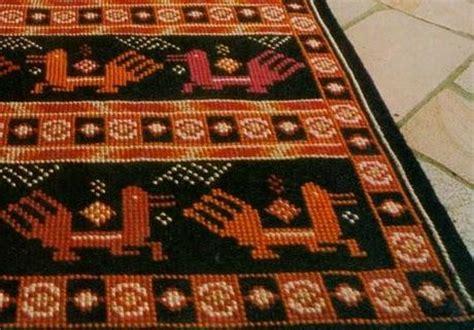tappeti a punto croce tappeto a punto croce su canovaccio paperblog