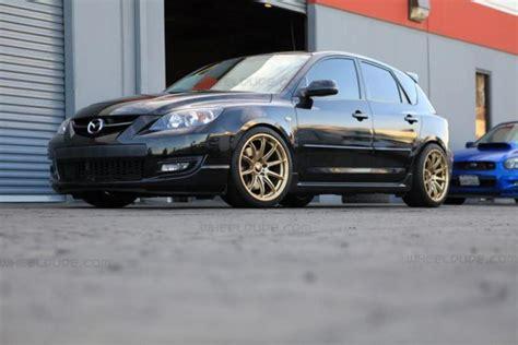 mazda mazdaspeed custom wheels rota tr    tire size