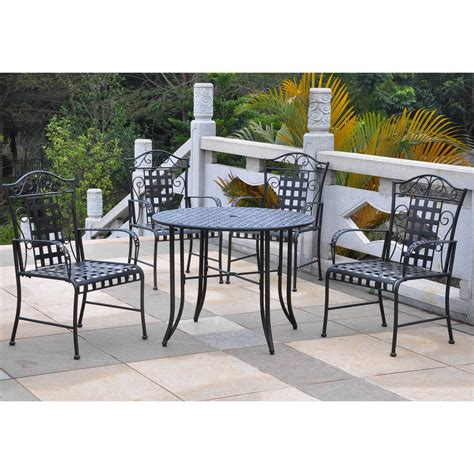 30 wide outdoor dining wrought iron patio dining furniture swivel wrought iron