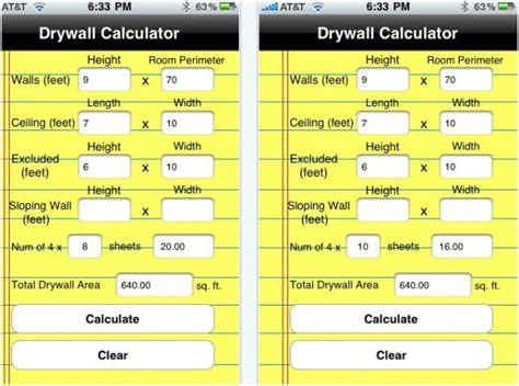 Gypsum Ceiling Material Calculator by 20 Best Iphone Home Improvement Apps To Help You Do It