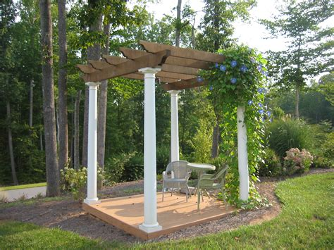 pergola or trellis 301 moved permanently