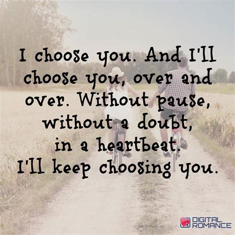 the i choose you i choose you and i ll choose you and without