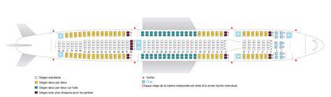 plan de cabine boeing 777 300er dair