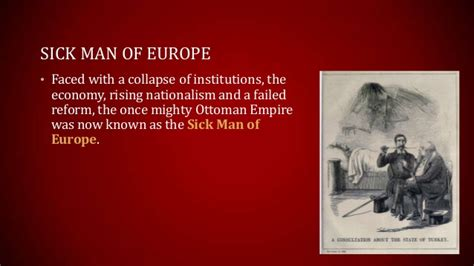 ottoman empire sick man of europe decline of the ottoman empire