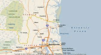 yulee florida map map of yulee