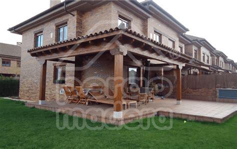 porche madera kit pergomadera p 233 rgolas y porches de madera en madrid tu