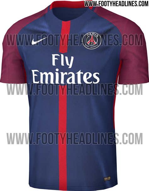 Jersey Germain Home Season 2017 2018 exclusive psg 17 18 home kit leaked footy headlines