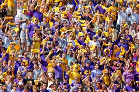 lsu school colors ncaa football florida at louisiana state fan index