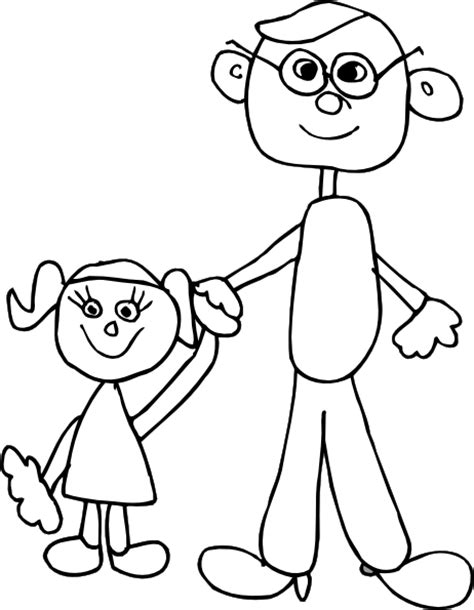 free coloring pages of happy father s day dad