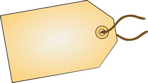 tag clipart luggage tag angle clip at clker vector clip