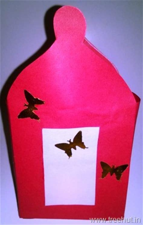 diwali paper lantern craft diwali paper lantern template treehut in
