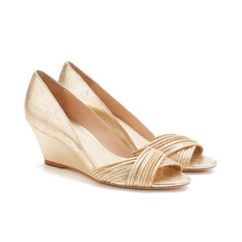 25 best ideas about gold wedges on wedge
