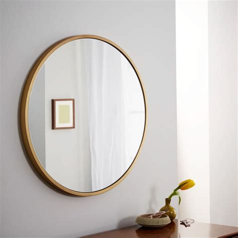 antique brass framed mirror at metal framed wall mirror antique brass