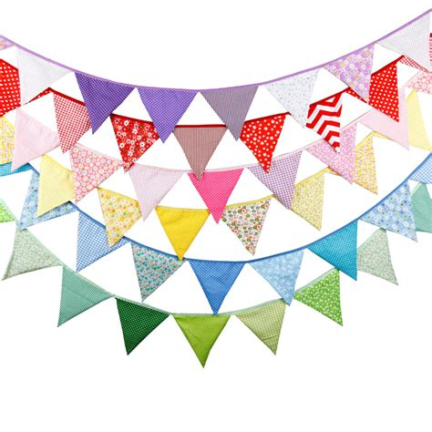 wedding banner colors 20 colours 12 flags 3 2m cotton fabric banners wedding