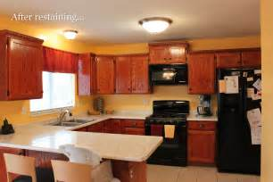 stain kitchen cabinets without sanding diy kinda girl painting cabinets or furniture without