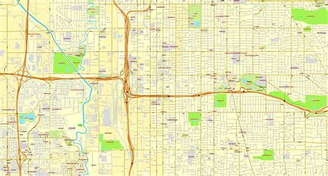 map of salt lake city streets salt lake city utah us printable vector city
