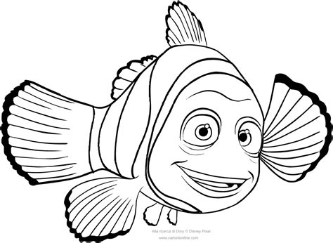 marlin fish coloring pages 85 marlin and dory coloring pages dory coloring page