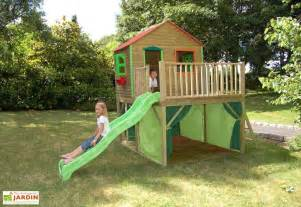 maison enfant bois et plastique fanfan soulet
