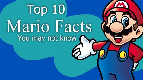 10 Facts You May Or May Not Know About The 1 4 2 Update - top 10 mario facts you may not know youtube