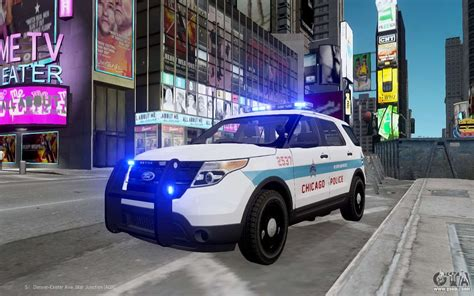 Ford Chicago by Ford Explorer Chicago 2013 For Gta 4